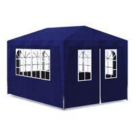 vidaXL Namiot imprezowy, 3 x 4 m, niebieski