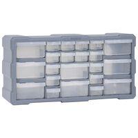 vidaXL Organizer z 22 szufladkami, 49x16x25,5 cm