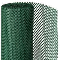 Nature Ogrodowa mata przeciwwiatrowa, 1x3 m, zielony, 6050320