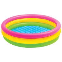 Intex Dmuchany basen dla dzieci Sunset, 3 obręcze, 147x33 cm