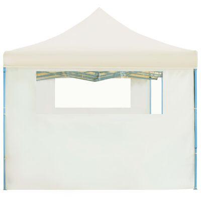 vidaXL Składany namiot z 5 ścianami bocznymi, 3 x 9 m, kremowy