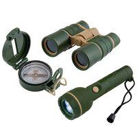 Scout 3-cz. zestaw dla małego poszukiwacza przygód, zieleń wojskowa