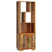 vidaXL Regał na książki, 60x35x180 cm, lite drewno z odzysku
