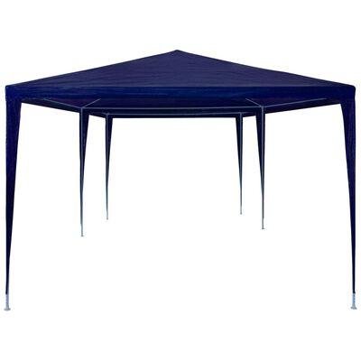 vidaXL Namiot imprezowy, 3 x 6 m, PE, niebieski