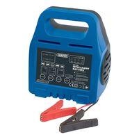 Draper Tools Inteligentny prostownik, 18,4x11,2x8,6 cm, 6 V/12 V