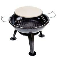 BBGRILL Ogrodowy grill i piecyk do pizzy, 56 x 61 cm