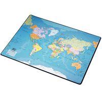 Esselte Mata na biurko przedstawiająca mapę świata, 41x54 cm