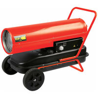 Perel Nagrzewnica Diesel, 30 kW, czerwona, FT130C