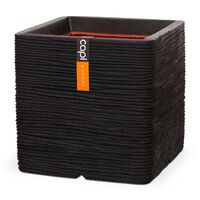 Capi Donica Nature Rib, kwadratowa, 50 x 50 cm, czarna