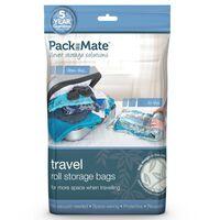 Packmate Zestaw 4 worków próżniowych do przechowywania, niebieski