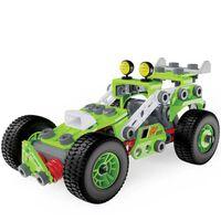 Meccano Junior Pojazd typu pull back buggy, Deluxe