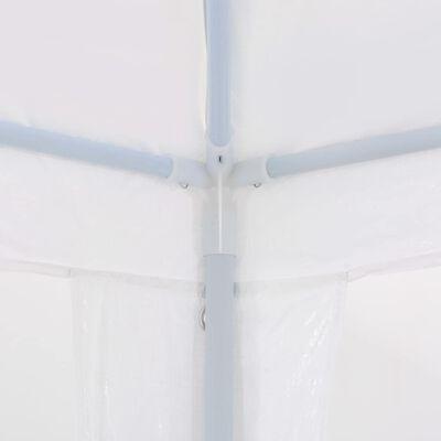 vidaXL Namiot imprezowy, 3 x 6 m, PE, biały