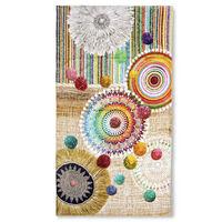 HIP Ręcznik plażowy INESSA, 100x180 cm, kolorowy
