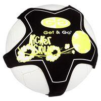 Get & Go Trenażer do piłki nożnej, czarno-żółty