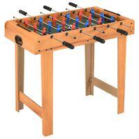 vidaXL Mini stół do piłkarzyków, 69 x 37 x 62 cm, klon