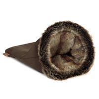 Designed by Lotte Rękaw do zabawy i spania dla kota FAISCA, brązowy