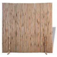 vidaXL Panel ogrodzeniowy z bambusa, 180x170 cm