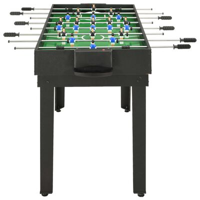 vidaXL Stół do gier 15-w-1, 121x61x82 cm, czarny