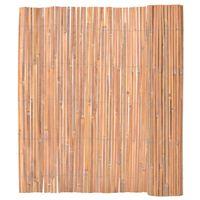 vidaXL Ogrodzenie z bambusa, 150x400 cm