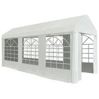 vidaXL Namiot imprezowy, PE, 2 x 5 m, biały