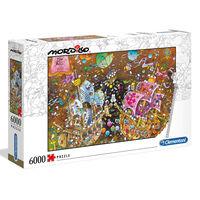 Clementoni Puzzle Mordillo The Kiss, 6000 elementów