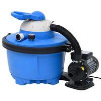 vidaXL Pompa z filtrem piaskowym, 385 x 620 x 432 mm, 200 W, 25 L