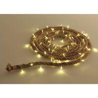 Luxform Sznur lampek LED Manila, 3 m, brązowy