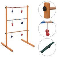 vidaXL Gra plenerowa Spin Ladder, wykonana z drewna