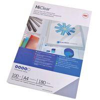 GBC Zestaw okładek do bindowania HiClear, A4, 150 mikronów
