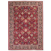 vidaXL Orientalny dywan, 80 x 150 cm, czerwono-beżowy