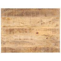 vidaXL Blat stołu, lite drewno mango, 25-27 mm, 90x60 cm