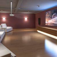 NewStar Uchwyt sufitowy do projektora, regulowany, 13-106 cm, srebrny