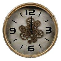 Gifts Amsterdam Zegar ścienny Radar, okrągły, antyczna miedź, 46 cm