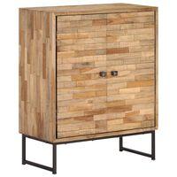 vidaXL Szafka z odzyskanego drewna tekowego, 60 x 30 x 75 cm