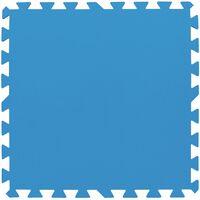 Bestway Mata ochronna pod basen, 8 szt., niebieska, 58220