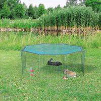 TRIXIE Ogrodowy kojec dla zwierząt z siatką ochronną, 60x57 cm, 62411