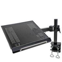 NewStar Uchwyt biurkowy na laptopa, 10-22'', regulowany, 57 cm, czarny