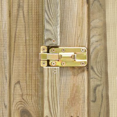 vidaXL Szopa na narzędzia, 232x110x170 cm, impregnowane drewno sosnowe