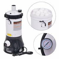 vidaXL Pompa filtrująca do basenów Intex i Bestway, 185 W, 4,4 m³/h