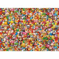 Clementoni Puzzle Emoji Impossible, 1000 elementów