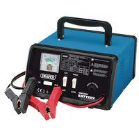 Draper Tools Prostownik do ładowania, 25,8x14,5x25 cm, 12/24 V, 10,3 A