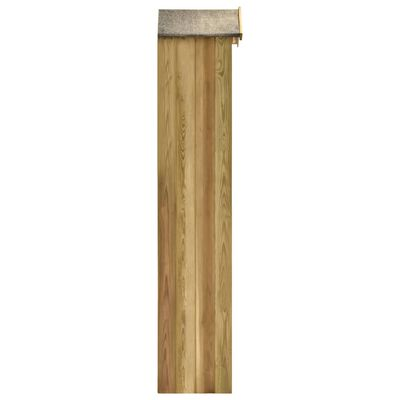 vidaXL Szopka na narzędzia, 36x36x163 cm, impregnowana sosna