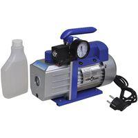 vidaXL Pompa próżniowa ze wskaźnikiem, 71 L/min