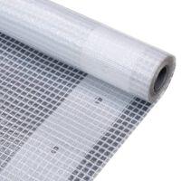 vidaXL Plandeka Leno, 260 g/m², 1,5x10 m, biała
