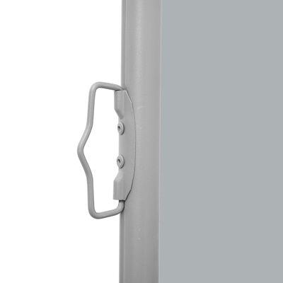 vidaXL Wysuwana markiza boczna, dwustronna,170x600 cm, antracyt