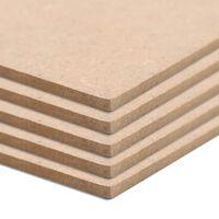 vidaXL Płyty MDF, 4 szt., kwadratowe, 60 x 60 cm x 12 mm