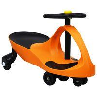 vidaXL Jeździk balansowy dla dzieci, z klaksonem, pomarańczowy