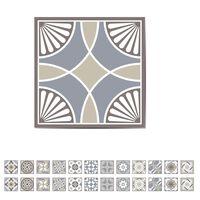 WALPLUS Naklejka na schody, hiszpańska ceramika, 15x15 cm, 24 arkusze