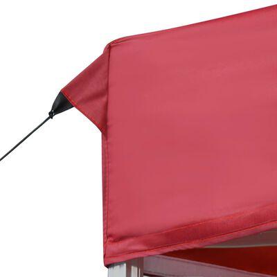 vidaXL Profesjonalny, składany namiot imprezowy, 6 x 3 m, czerwony
