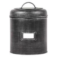LABEL51 Puszka, 21x21x29 cm, XXL, antyczna czerń